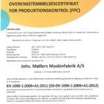 ISO1090 certifikat - Damgaard Metal