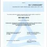 ISO 9001:2015 certificering Lykkegaard